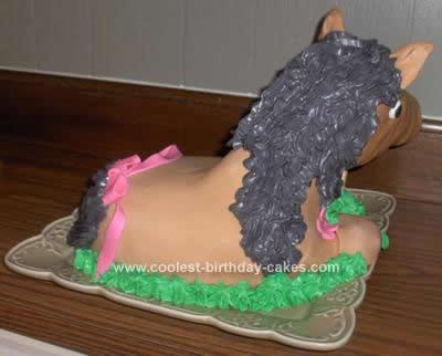 Homemade Horsey Cake