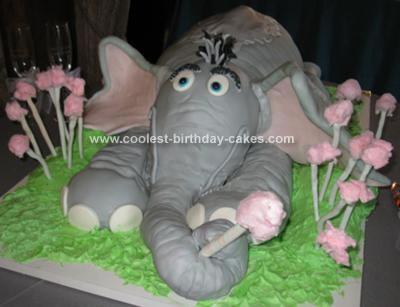 Homemade Horton Hears a Who Cake Idea