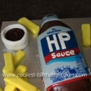 HP Sauce Birthday Cakes