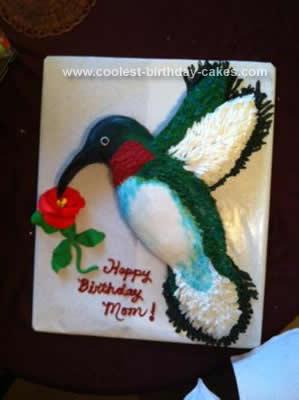 Homemade Hummingbird Cake