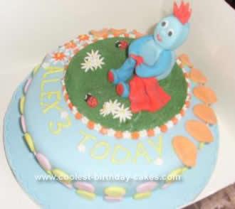 Homemade Iggle Piggle In The Night Garden Cake