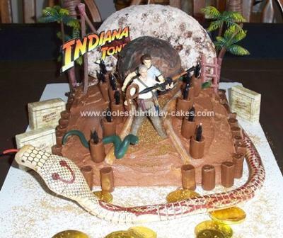 Homemade Indiana Jones Cake