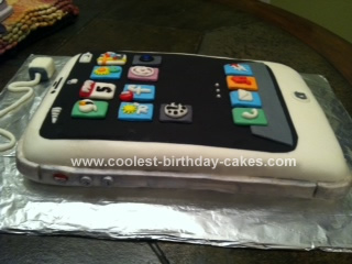 Homemade Iphone Cake