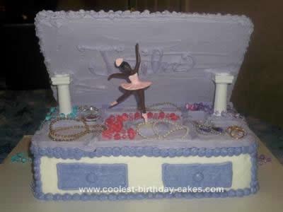 Homemade Jewelry Box Cake