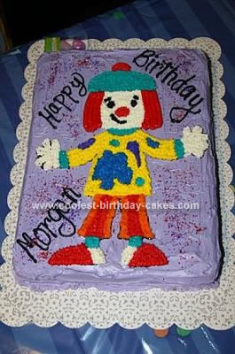 Jo Jo the Clown Cake