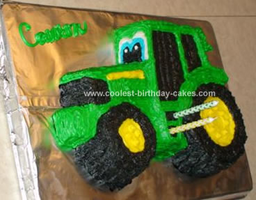 John Deere Cake Pan Instructions