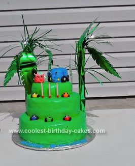 Homemade Jungle Junction Cake