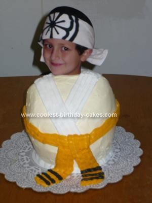 Amazing Birthday Cakes on Coolest Karate Birthday Cake 2