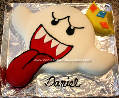 Homemade King Boo Cake
