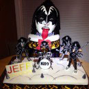 KISS Birthday Cakes