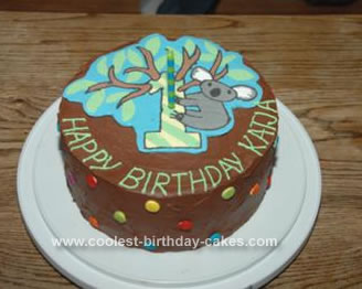 Homemade Koala Cake