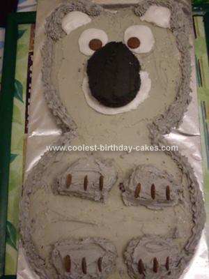 Homemade Koala Cake