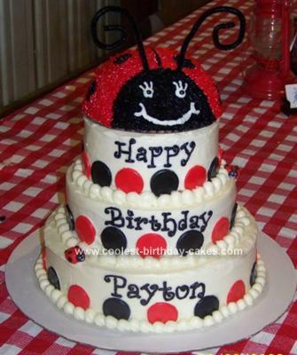 coolest ladybug birthday cake 98 21130805 jpg