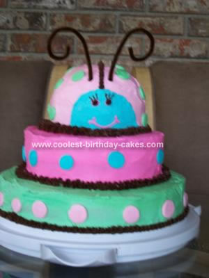 Homemade Ladybug Cake