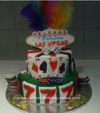 Birthday Cakes Vegas On Coolest Las Cake Idea 35