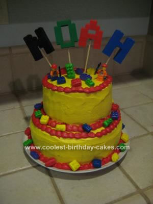 coolest birthday cakes lego