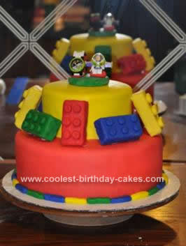 Lego Birthday Cake on Coolest Lego Birthday Cake Idea 56