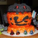 Power Miners Birthday Cakes