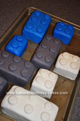 Homemade Lego Star Wars Cake Design