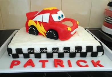 Lightning Mcqueen Cake Decorations Australia