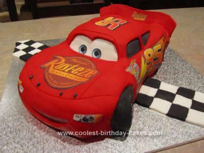 Coolest lightning mcqueen cake 141