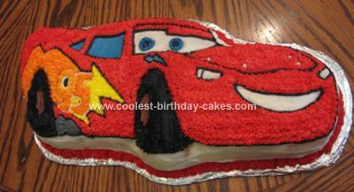 Cake Mcqueen Professor Cars Pinterest