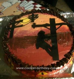 Homemade Lineman Cake