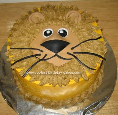 Coolest Lion Birthday Cake 24. by Susan D. (Kalispell, Montana)