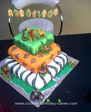 Coolest Lion King Cake 7