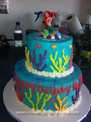 Little Mermaid Cakes 5