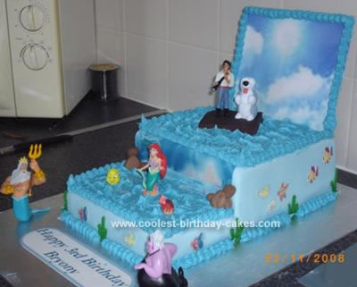 Coolest Little Mermaid Cake 61