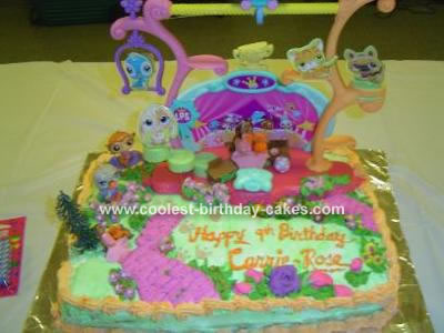 Baby Picture Contest on Coolest Littlest Pet Shop Cake 10