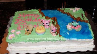 Coolest Littlest Pet Shop Birthday Cakes