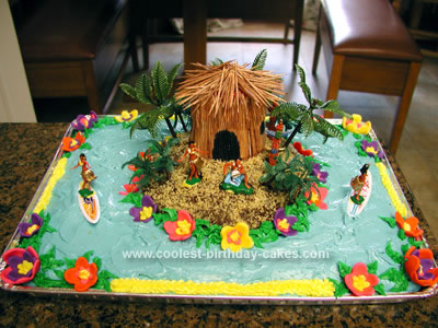 Childrenbirthday Cakes on Coolest Luau Birthday Cake 22