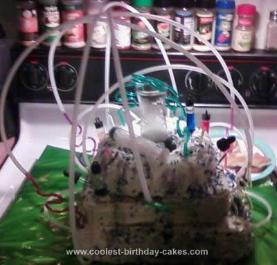 Homemade Mad Science Cake