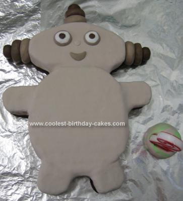 Homemade Makka Pakka Birthday Cake