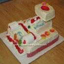 Marble Run Birthday Cakes