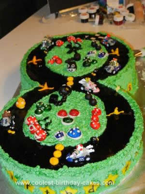 Mario Birthday Cake on Coolest Mario Kart Birthday Cake 91