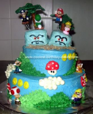 Mario Birthday Cake on Coolest Mario Party Birthday Cake 21