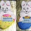 Max and Ruby Birthday Cakes