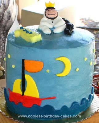 Homemade Max &The Wild Things Birthday Cake