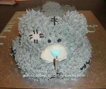 Homemad  'Me to You' Tatty Bear Cake