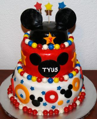 Love Baby Images on Coolest Mickey Mouse 3 Tier Cake 60