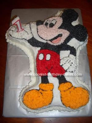 Mickey Mouse Birthday Cakes on Coolest Mickey Mouse Birthday Cake 47