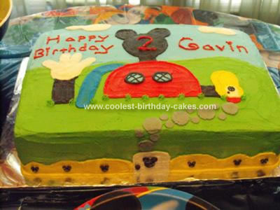 Pirate Birthday Cake on Coolest Mickey Mouse Clubhouse Birthday Cake 50