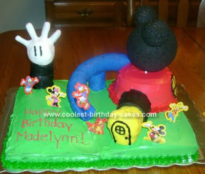 Design Ideas   Home on Coolest Mickey Mouse Clubhouse Cake 18