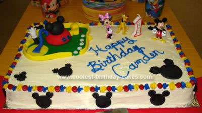 Mickey Mouse 14 Sheet Cake Mickey Mouse Cakes 27