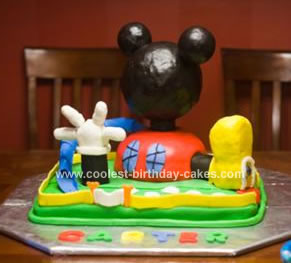 Mickey Mouse Clubhouse Birthday Cake on Coolest Mickey Mouse Clubhouse Cake 44