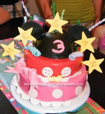 Minnie Mouse Birthday Cakes on Coolest Mickey Mouse Minnie Mouse Birthday Cake 86 21379530 Jpg
