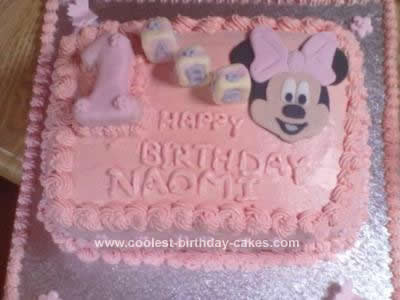 Minnie Mouse Cakes 18